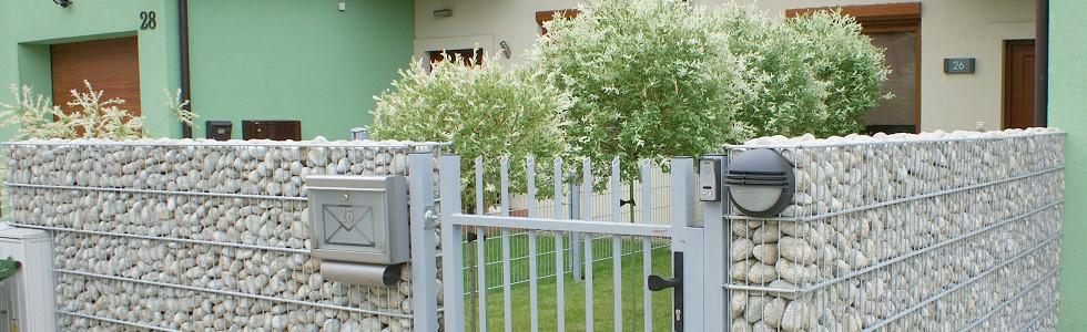 Ogrodzenia gabionowekosze na kamienie, ogrodzenia gabionowe