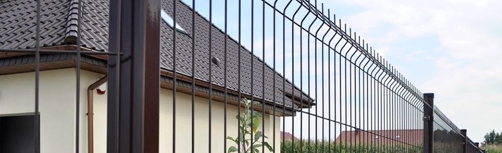 Ogrodzenia panelowewytłaczane, proste oraz wypukłe